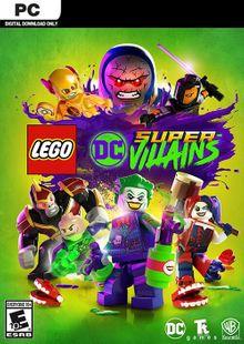 Lego DC Super-Villains PC cheap key to download