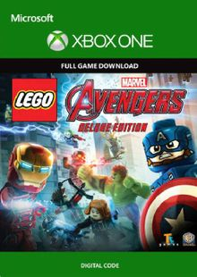 LEGO Marvel's Avengers - Deluxe Edition Xbox One (UK) cheap key to download