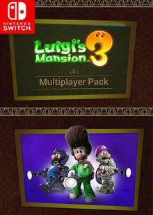 Luigi's Mansion 3 - Multiplayer Pack Switch clé pas cher à télécharger
