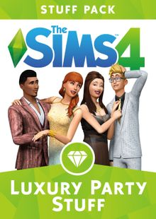 The Sims 4 - Luxury Party Stuff PC cheap key to download