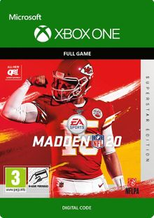 Madden NFL 20 Superstar Edition Xbox One cheap key to download