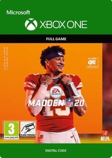 Madden NFL 20 Xbox One billig Schlüssel zum Download