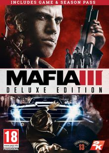 Mafia III 3 Deluxe Edition PC cheap key to download