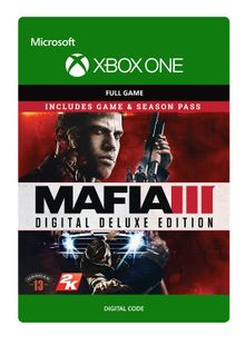 Mafia III 3 Digital Deluxe Xbox One cheap key to download