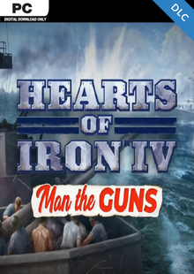 Hearts of Iron IV 4 Man the Guns PC DLC cheap key to download