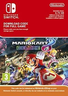 Mario Kart 8 Deluxe Switch (EU) billig Schlüssel zum Download