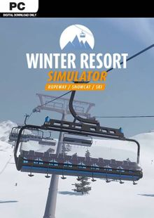 Winter Resort Simulator PC billig Schlüssel zum Download