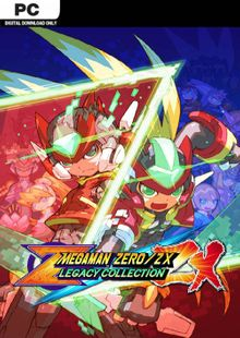 Mega Man Zero/ZX Legacy Collection PC + DLC cheap key to download