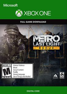 Metro Last Light Redux Xbox One cheap key to download