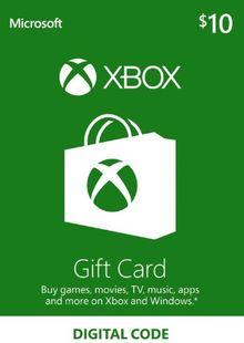 Microsoft Gift Card - $10 (Xbox One/360) billig Schlüssel zum Download