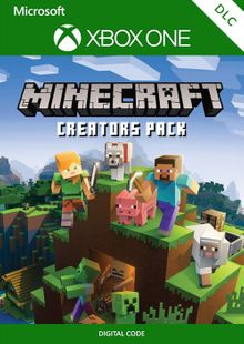 Minecraft Creators Pack Xbox One cheap key to download