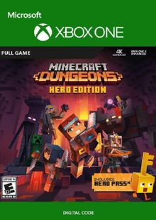 Minecraft Dungeons Hero Edition Xbox One (UK) cheap key to download