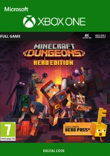 Minecraft Dungeons Hero Edition Xbox One billig Schlüssel zum Download