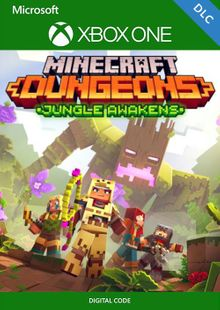 Minecraft Dungeons: Jungle Awakens Xbox One (UK) cheap key to download