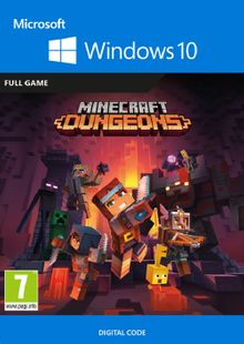 Minecraft Dungeons - Windows 10 PC cheap key to download