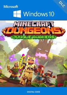 Minecraft Dungeons: Jungle Awakens Windows 10 PC - DLC (UK) cheap key to download