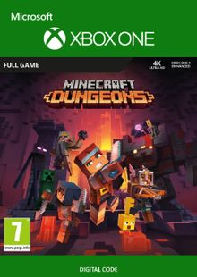 Minecraft Dungeons Xbox One billig Schlüssel zum Download