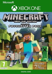 Minecraft Favorites Pack Xbox One billig Schlüssel zum Download
