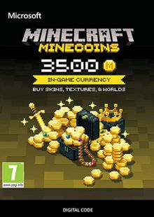 Minecraft: 3500 Minecoins cheap key to download