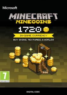Minecraft: 1720 Minecoins cheap key to download