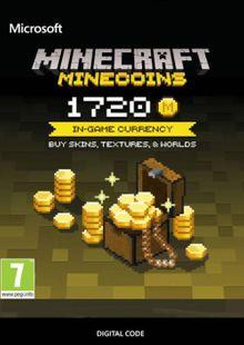 Minecraft: 1720 Minecoins billig Schlüssel zum Download