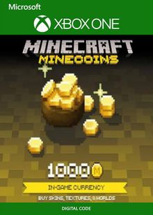 Minecraft 1000 Minecoins Xbox One cheap key to download