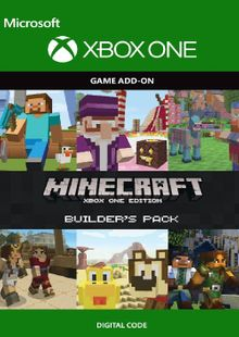 Minecraft Builder's Pack Xbox One cheap key to download