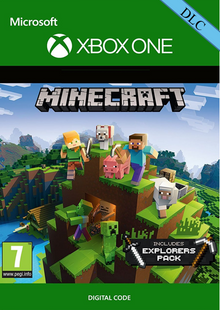 Minecraft: Explorers Pack DLC Xbox One billig Schlüssel zum Download