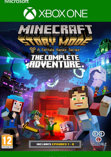 Minecraft Story Mode Complete Adventure Xbox One billig Schlüssel zum Download