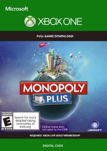 Monopoly Plus Xbox One (UK) cheap key to download