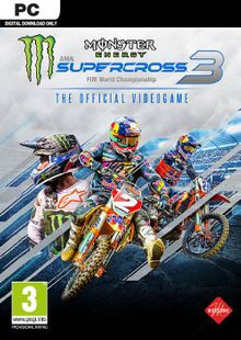 Monster Energy Supercross - The Official Videogame 3 PC cheap key to download