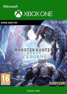 Monster Hunter World Iceborne Xbox One (UK) cheap key to download