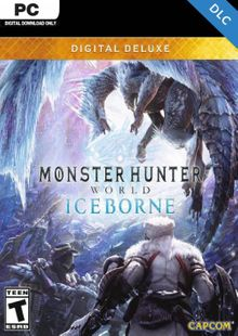 Monster Hunter World: Iceborne Deluxe Edition PC + DLC billig Schlüssel zum Download