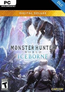 Monster Hunter World: Iceborne Deluxe Edition PC + DLC cheap key to download