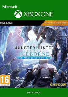 Monster Hunter World: Iceborne - Master Edition Deluxe Xbox One (UK) cheap key to download