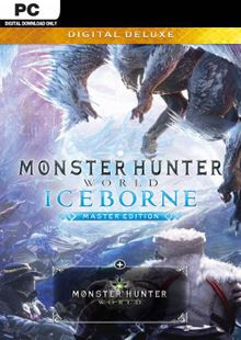 Monster Hunter World: Iceborne Master Edition Deluxe PC billig Schlüssel zum Download