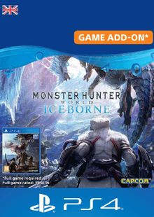 Monster Hunter World: Iceborne PS4 (UK) cheap key to download