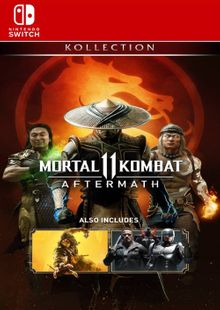 Mortal KOMBAT 11: Aftermath Kollection Switch (US) cheap key to download
