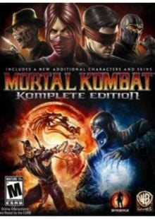 Mortal Kombat Komplete Edition PC cheap key to download