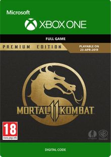 Mortal Kombat 11 Premium Edition Xbox One (UK) cheap key to download