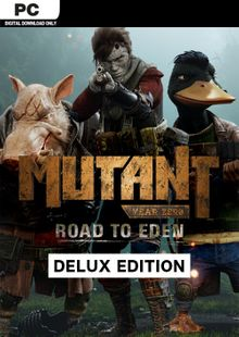 Mutant Year Zero Road to Eden Deluxe Edition PC cheap key to download