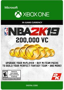 NBA 2K19: 200,000 VC Xbox One billig Schlüssel zum Download