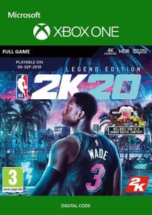 NBA 2K20: Legendary Edition Xbox One cheap key to download