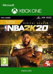 NBA 2K20: Deluxe Edition Xbox One billig Schlüssel zum Download