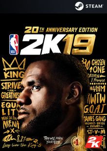 NBA 2K19 20th Anniversary Edition PC (US) cheap key to download
