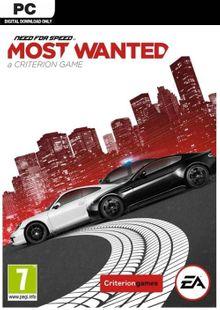 Need For Speed Most Wanted PC clé pas cher à télécharger