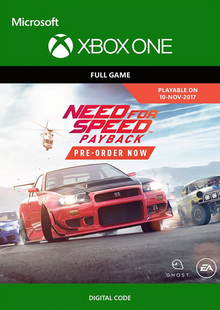 Need for Speed Payback Xbox One cheap key to download