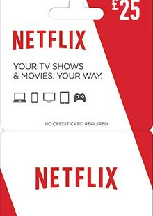 Netflix Gift Card - £25 cheap key to download