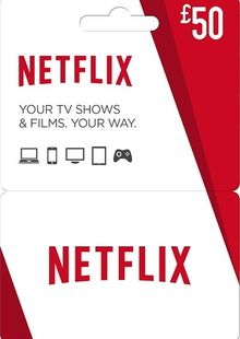 Netflix Gift Card - £50 cheap key to download