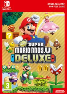 New Super Mario Bros. U - Deluxe Switch (US) cheap key to download
